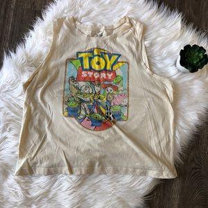Disney's toy story crop tank